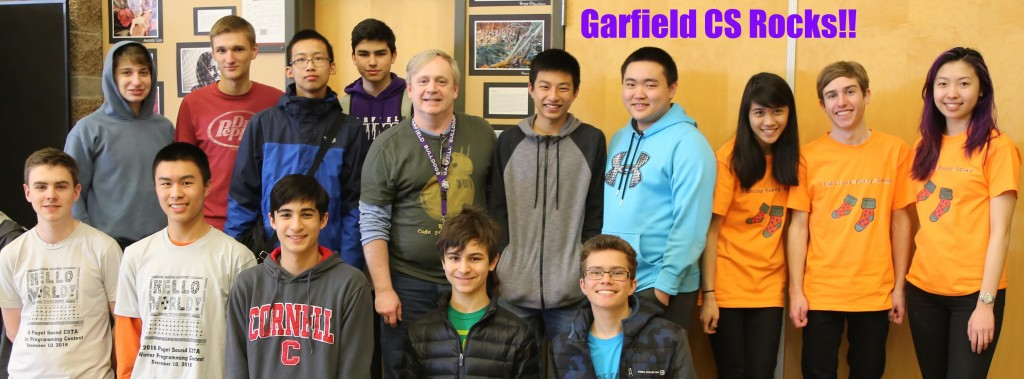 Garfield at 2017 Spring Programming Contest