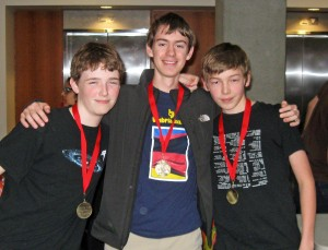 Advanced 1st Place - Eamon, Dylan & Lane