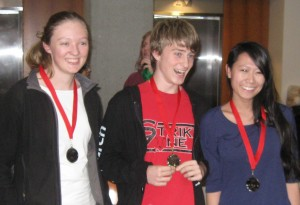 Advanced 2nd Place - Isabel, Grant & Jenny