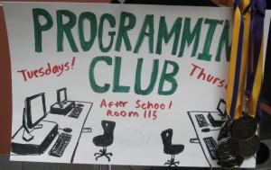 Programming Club Poster
